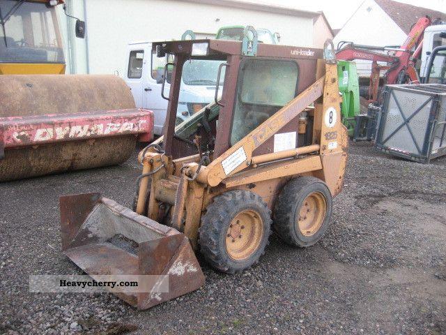 1993 Case  1825, NL 400 kg Construction machine Wheeled loader photo