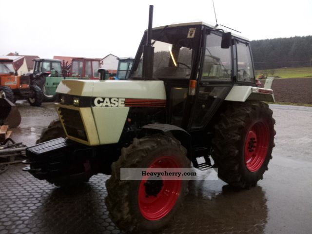 1985 Case  DB 1294 Agricultural vehicle Tractor photo