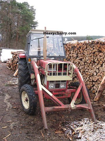 1978 Case  744 Agricultural vehicle Tractor photo