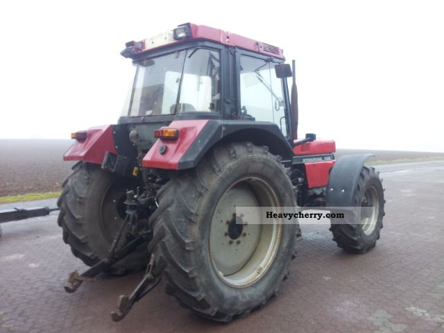 1989 Case  956 XL-defect Agricultural vehicle Tractor photo