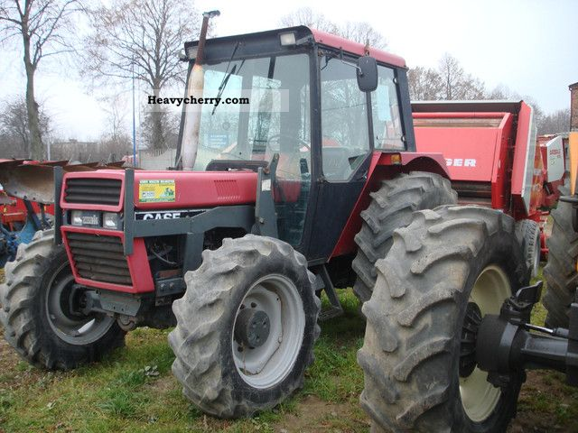 1990 Case  743 Agricultural vehicle Tractor photo