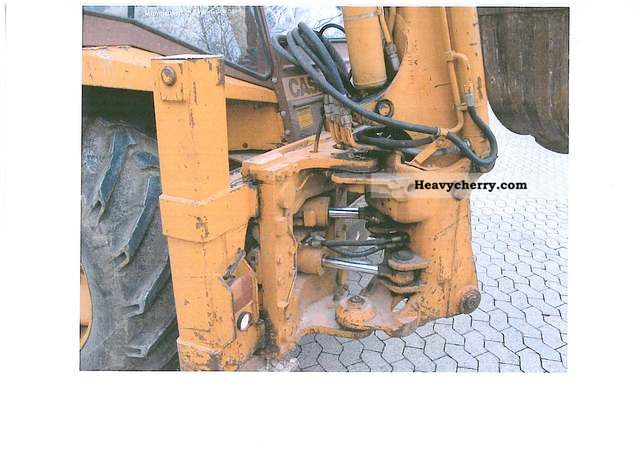 1986 Case  580 G 4 x 4 Construction machine Combined Dredger Loader photo