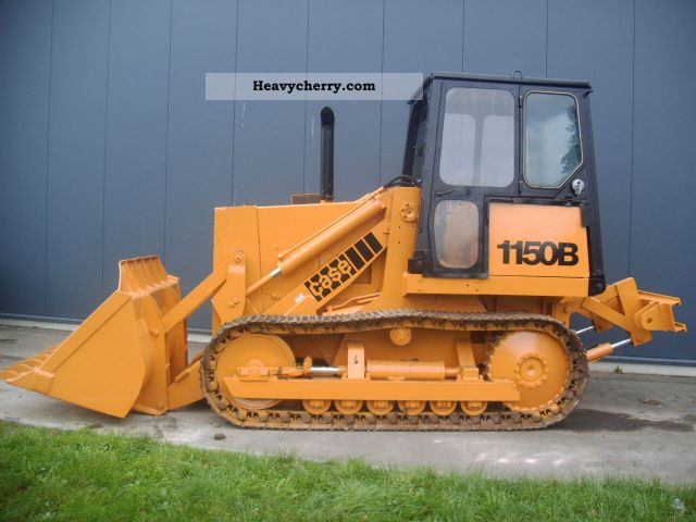 1984 Case  1150 b Construction machine Caterpillar digger photo