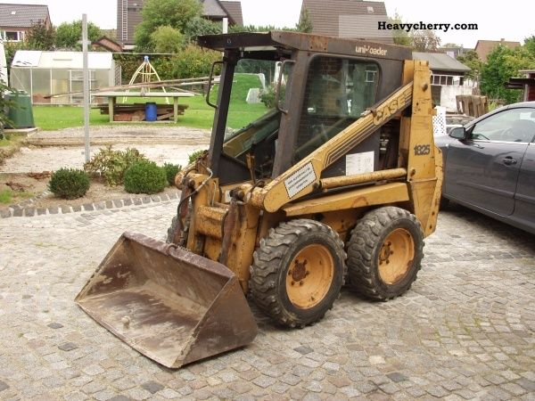 1995 Case  1825 Construction machine Wheeled loader photo