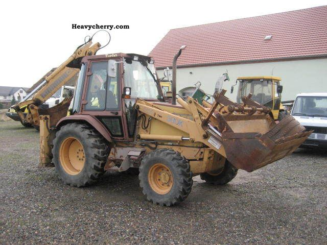 1991 Case  580 K 4x4 Turbo Construction machine Combined Dredger Loader photo