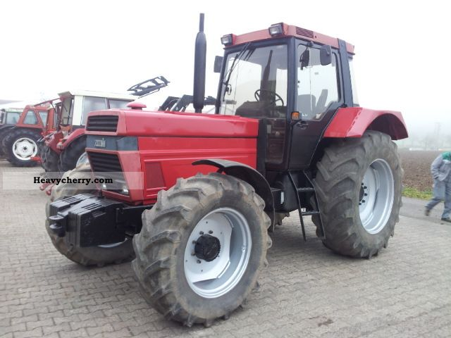 1987 Case  1255 XLA Agricultural vehicle Tractor photo