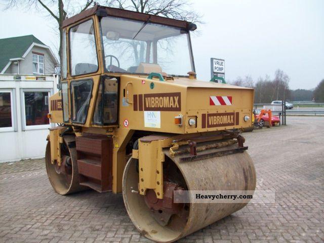 1992 Case  Vibromax W 552 Construction machine Rollers photo