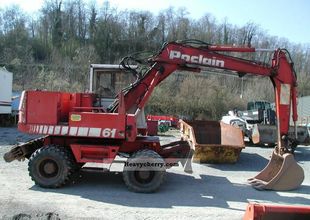 Case Poclain 61 P 2011 Mobile Digger Construction Equipment Photo And Specs