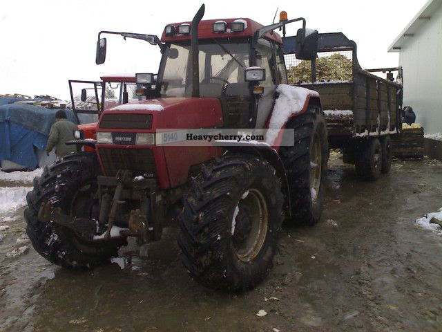 1994 Case  5140 Agricultural vehicle Tractor photo
