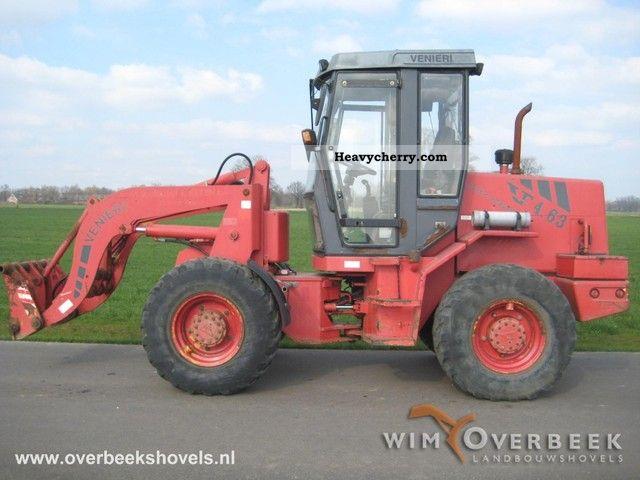 2000 Case  4.63D (Venieri) swing loader Construction machine Wheeled loader photo