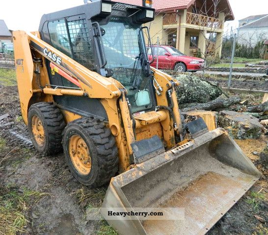 2006 Case  40 XT front door / heating Construction machine Wheeled loader photo