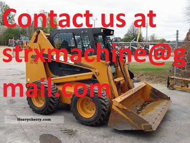 2006 Case  465 Construction machine Wheeled loader photo