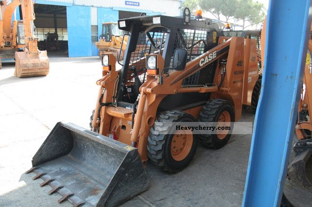 2007 Case  410 Construction machine Mini/Kompact-digger photo