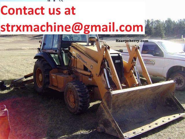 2000 Case  580L II Construction machine Combined Dredger Loader photo