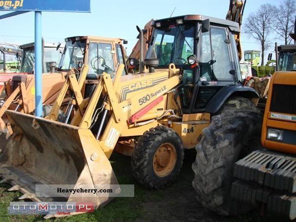 2000 Case  580 Super LE Construction machine Combined Dredger Loader photo
