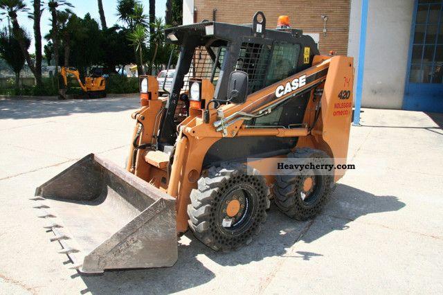 2008 Case  420 Construction machine Mini/Kompact-digger photo