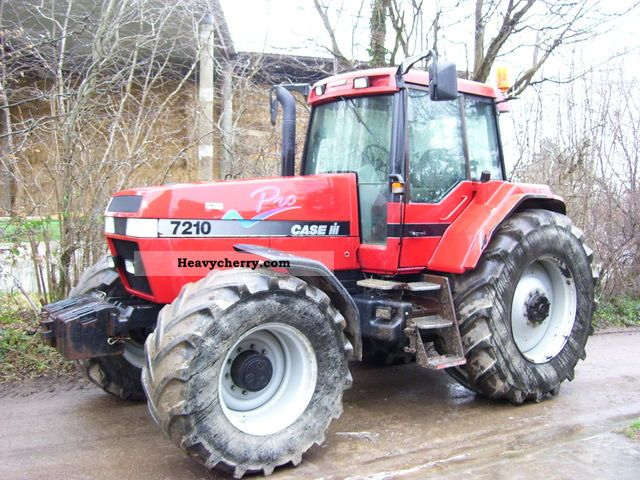 2000 Case  7210 Agricultural vehicle Tractor photo