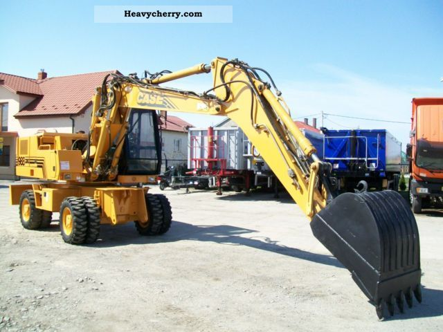 2001 Case  988 Construction machine Mobile digger photo