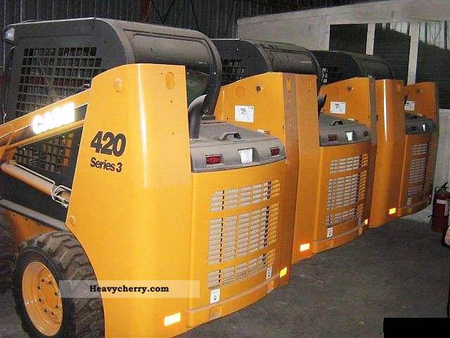 2010 Case  420 S3 Construction machine Wheeled loader photo