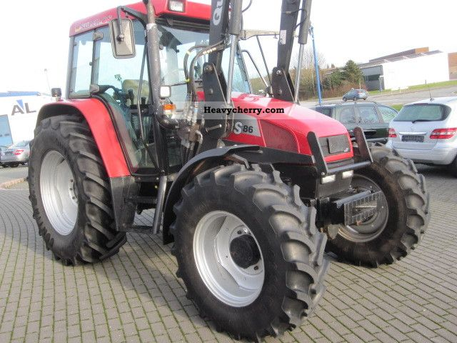 2000 Case  CS with 86 industrial loader Agricultural vehicle Tractor photo