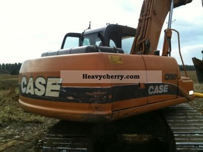 2003 Case  koparka gąsienicowa Case CX160 2003r Construction machine Mobile digger photo