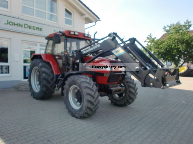 1992 Case  Maxxum 5130 Agricultural vehicle Tractor photo