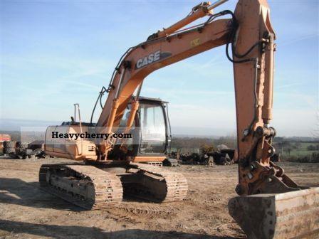 2002 Case  160 CX chain built 2002 Construction machine Caterpillar digger photo