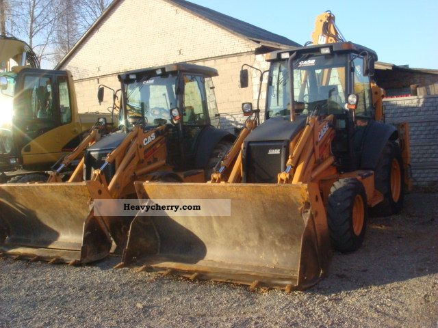 2006 Case  580 SR-4PT 2 sztuki Construction machine Construction Equipment photo