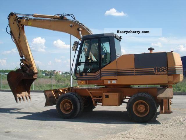 1997 Case  1188-P Construction machine Mobile digger photo