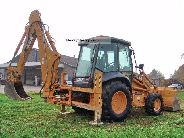 Case 580sr 4pt 2007 combined dredger loader construction for Avis e case construction