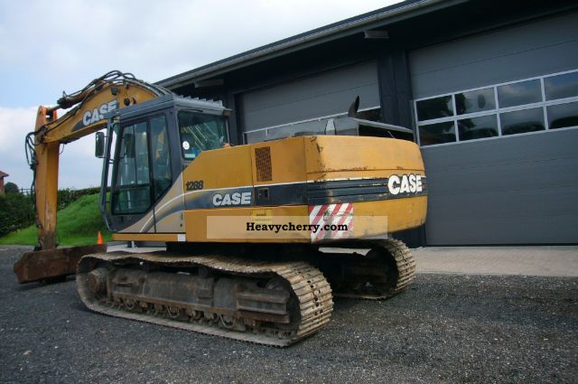 2001 Case  1288 Construction machine Caterpillar digger photo