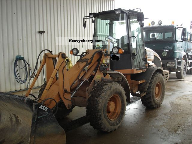 2008 Case  321 E 1.2 m³ HTS high-speed 35 km / h Tier3! Construction machine Wheeled loader photo