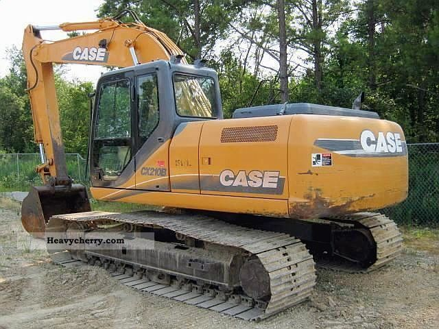 Case cx210b 2007 combined dredger loader construction for Avis e case construction