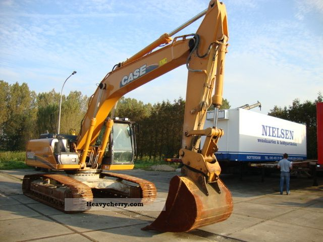 2008 Case  240CX Construction machine Caterpillar digger photo