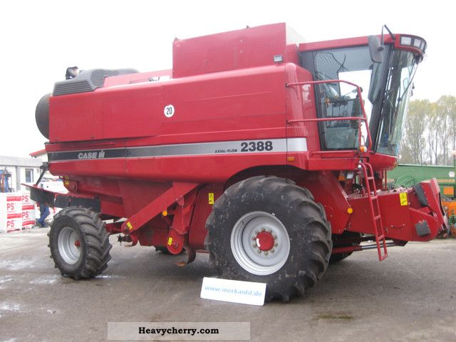 2001 Case  2388 Axial Flow Agricultural vehicle Combine harvester photo