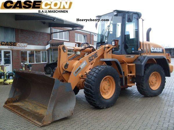 2008 Case  521 E\u003e\u003e demo; warranty \u003c\u003c Construction machine Wheeled loader photo