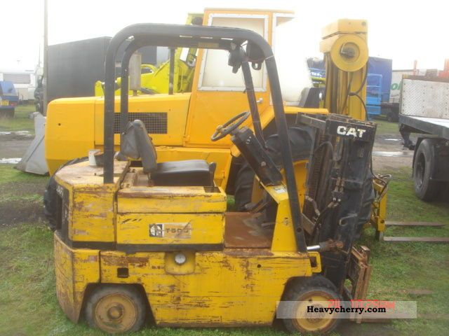 1992 CAT  CATEPILAR Forklift truck Front-mounted forklift truck photo