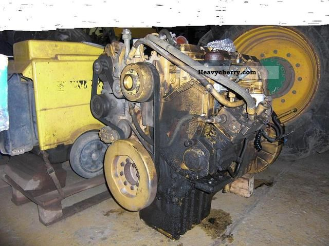 1996 CAT  3126 engine Construction machine Other substructures photo