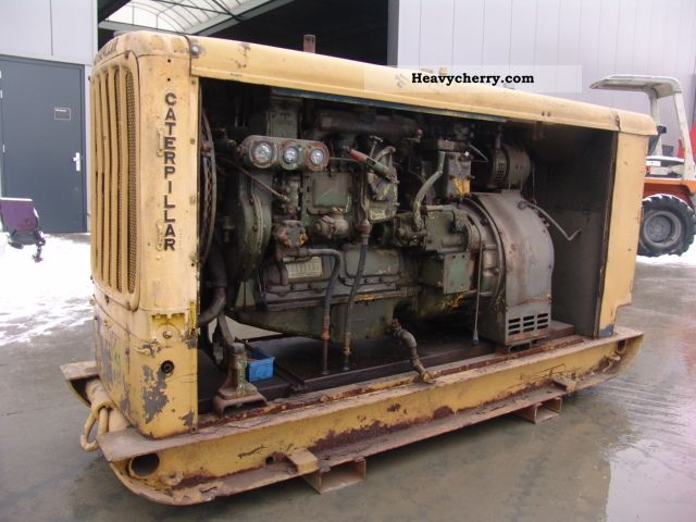 1950 CAT  20 KVA Construction machine Other construction vehicles photo