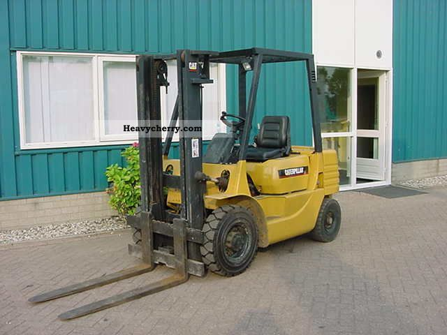 1994 CAT  DP25 Forklift truck Front-mounted forklift truck photo