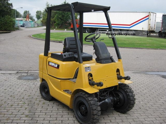 2000 CAT  DP18 Forklift truck Front-mounted forklift truck photo