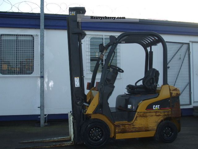 2007 CAT  DP18N Forklift truck Front-mounted forklift truck photo