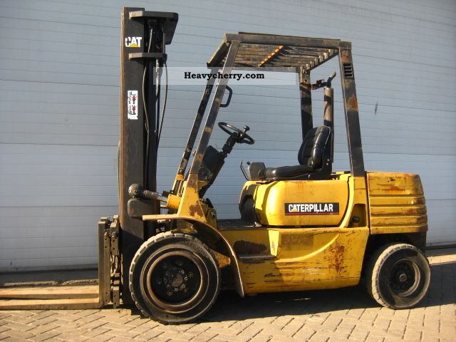 1995 CAT  DP30 Forklift truck Front-mounted forklift truck photo