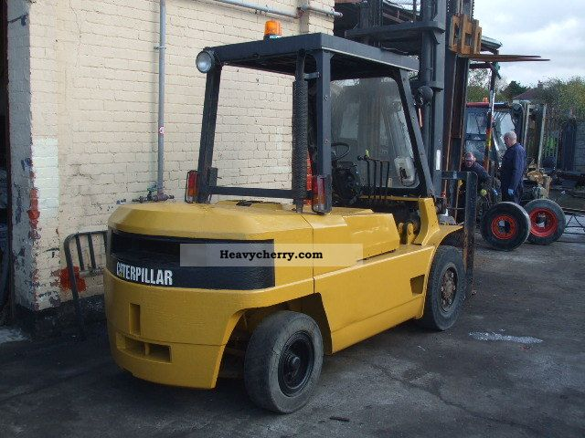 1999 CAT  DP50 Forklift truck Front-mounted forklift truck photo