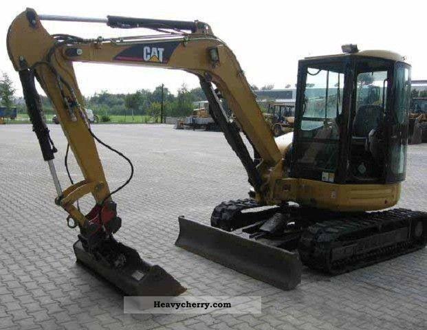 Mini/Kompact-digger, Construction machine Commercial