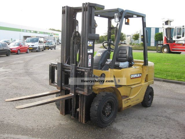 2002 CAT  DP25K Forklift truck Front-mounted forklift truck photo