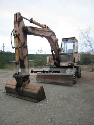 1987 CAT  206 Construction machine Mobile digger photo