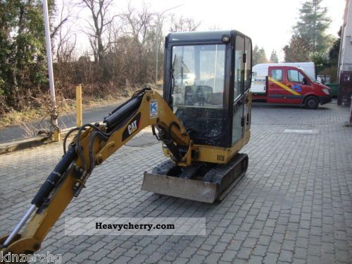 2007 CAT  Caterpillar 301.6C Mini Excavator Construction machine Mini/Kompact-digger photo