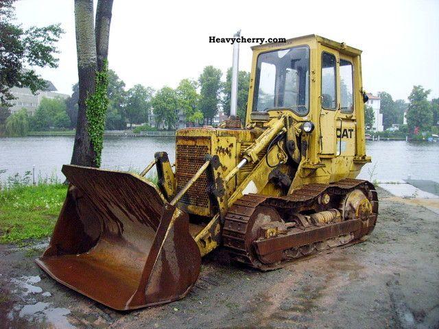 1981 CAT  Caterpillar track loader 951 C 3251h Construction machine Dozer photo