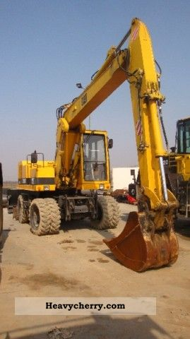 1994 CAT  212 Construction machine Mobile digger photo